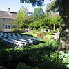outdoor ceremony set up can hold 200 plus--this was for 125