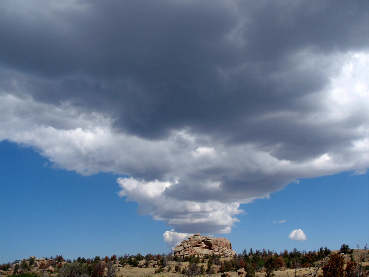 Went to one of my favorite places on earth with Matt & Sarah for Labor Day '09 ...Vedauwoo!