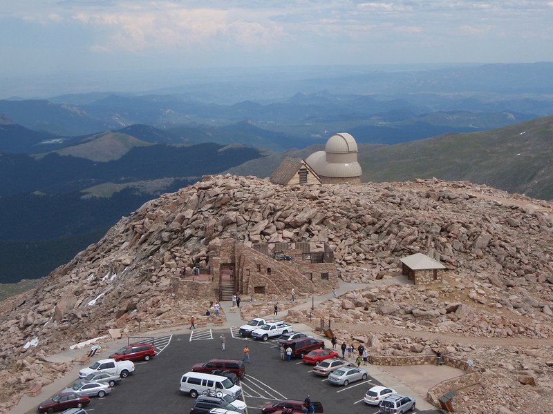 Evans also has the highest observatory in the world.