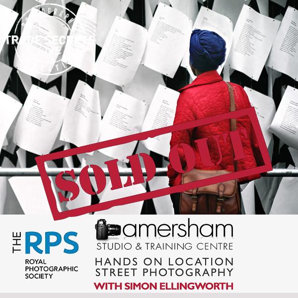 RPS Hands on loction based Street Photography workshop Brick Lane, London.