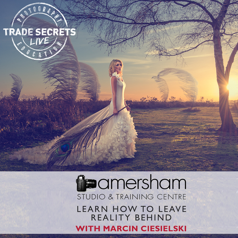 lEARN HOW TO LEAVE REALITY BEHIND conceptual fine art photography Workshop at Amersham Studios