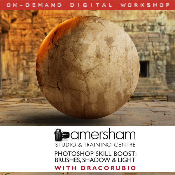 Photoshop Skills Boost: Brushes, Shadow and Light at Amersham Studios