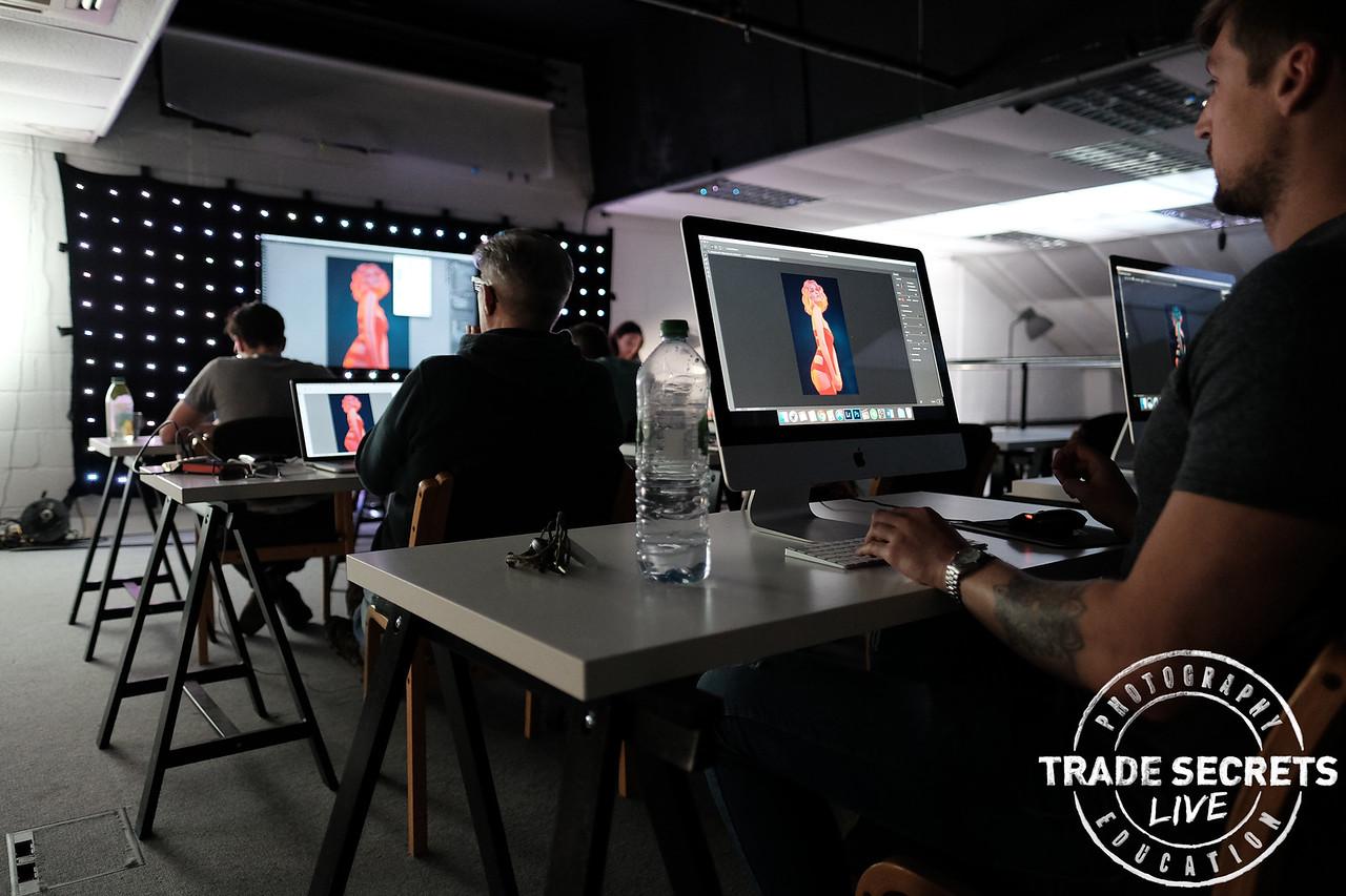 Jake Hicks Post Pro Workshop at Amersham Studios