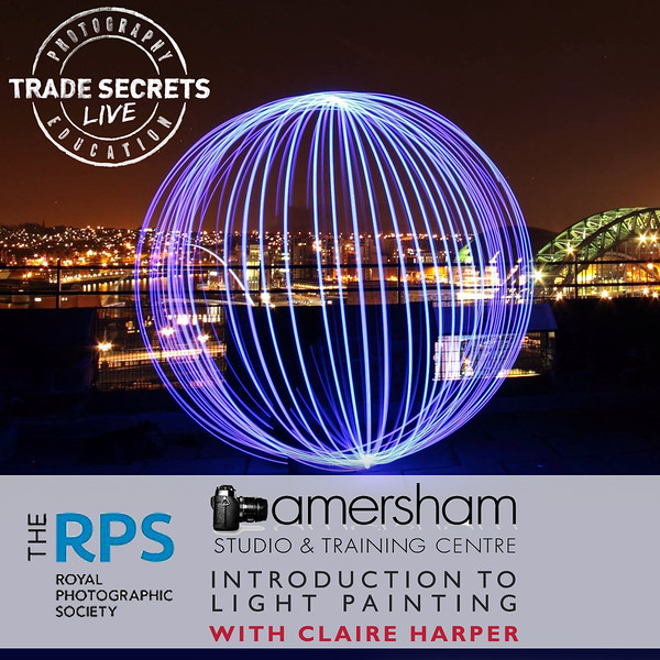 10th May - RPS INTRODUCTION TO LIGHT PAINTING with CLAIRE HARPER at Amersham Studios