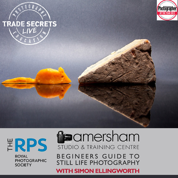 RPS Begineers Guide To Still Life Photography at Amersham Studios, UK