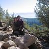 Views from Relay Peak (Lake Tahoe in background)