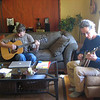 A little man jam session with Fred in Boulder