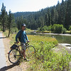Bike path from Squaw Valley to Lake Tahoe