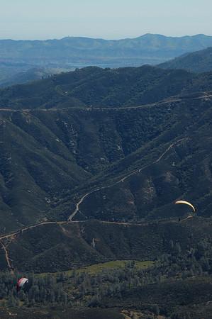 Paragliding at Potato Hill