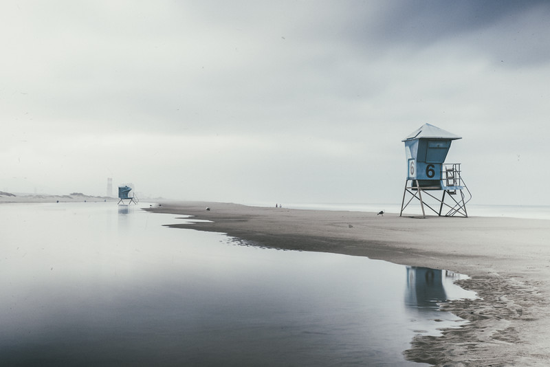 Early morning at the Port Hueneme Pier