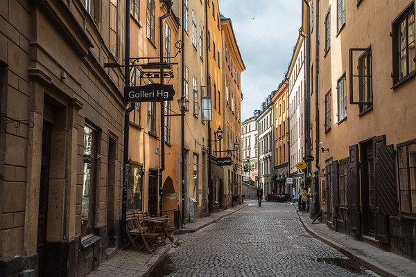 Morning in Gamla Stan