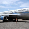 Boeing 707 Air Force One used by President Kennedy
