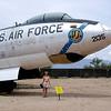 Diane and the Boeing E-47E Stratojet