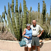 Mom & Dad at the Sonoran Desert Museum: July 2003