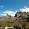 Views of Pusch Ridge high desert landscape in northwest Tucson