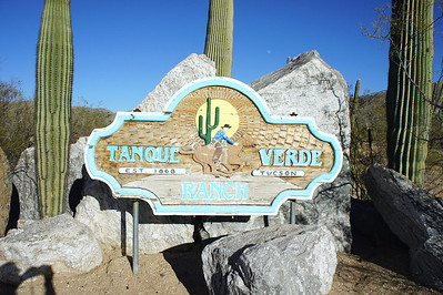 "12/23/12: The rich and colorful history of this Arizona dude ranch begins with the Pima Indians.  The ""Tanque Verde"" Ranch is named for the ""green pool"" and seasonal river that the Indians used as a source of water.  They left behind numerous mortar stones and other artifacts as testimony to their passage."