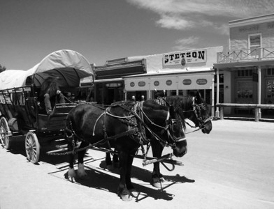 Public transportation is ready for you in Tombstone.