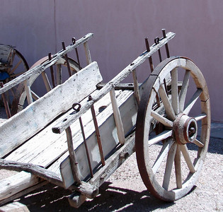 An old cart from the 1800's.