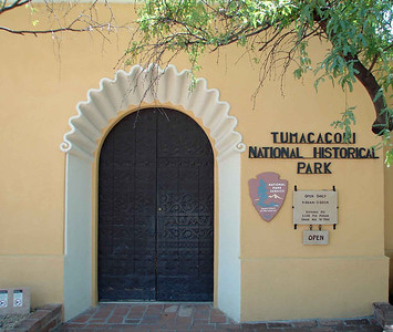 Work on the Tumacacori Mission began around 1800, directed by a master mason with a crew of Indian and Spanish laborers.