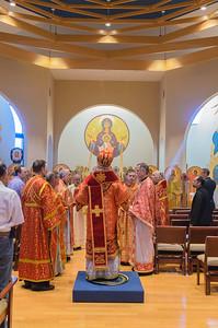Archdiocese Liturgy with Metropolitan Tikhon  St. Matthew Orthodox Church Saturday, September 16, 2017