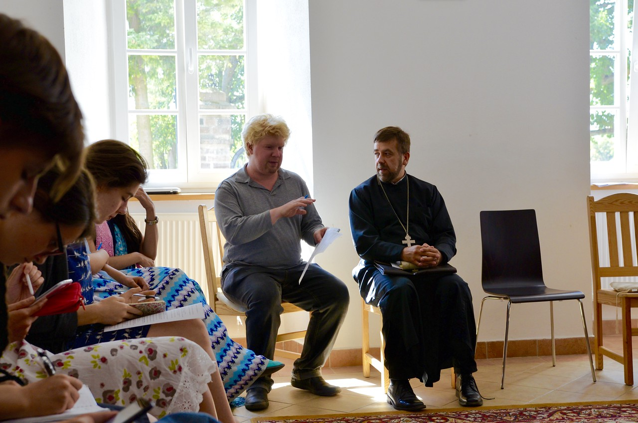 Discussion with Fr. Andrej