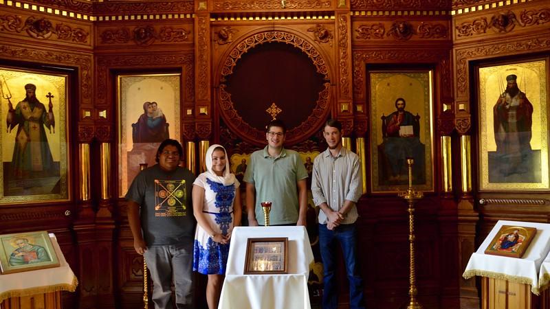 Group Photo! From left to right VictorLutes, Janine Alpaugh, John Shimchick, Joseph Green