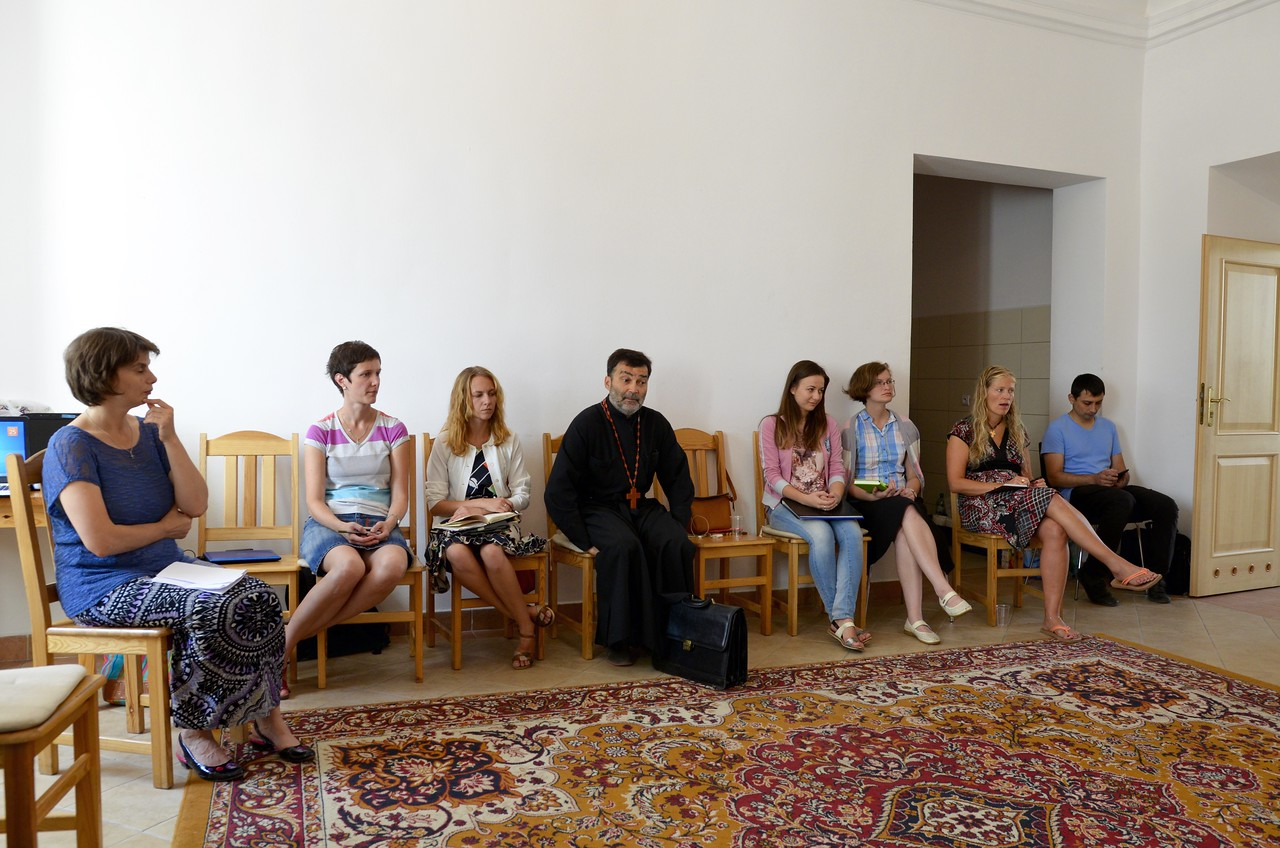 Discussion with Fr. Vladimir