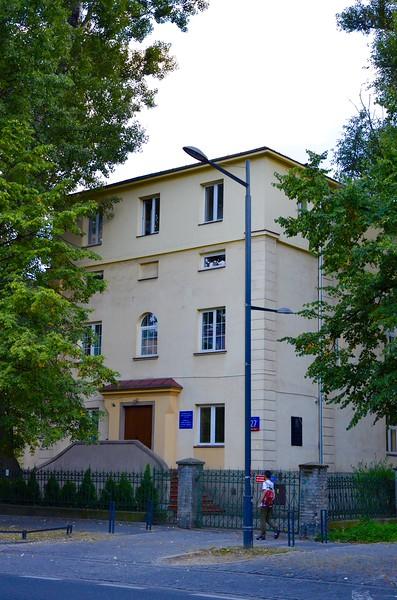 The seminary where we spent the night.