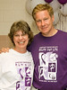At the Vienna, VA Relay for Life Survivors Reception Marsha Komandt is wearing a white Relay for Life participants T shirt. She is an Inova Life with Cancer Oncology Education Coordinator and a member of the Inova Life with Cancer Young Adult Group Relay Team (Young and Restless). Cancer survivor and U.S. Congressman from Virginia, Tom Davis, is wearing a purple Relay for Life cancer survivor T shirt.  © 2007, Terry J. Sam, All Rights Reserved