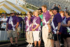 Cancer survivor and U.S. Congressman from Virginia, Tom Davis, at the start of the Vienna, VA Relay for Life Survivor Walk. To the left is cancer survivor and Inova Life with Cancer volunteer, Judy Jones. To the right is his wife, Virginia Senator Jeannemarie Devolites Davis.<br />  © 2007, Terry J. Sam, All Rights Reserved