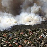 2007 Fire in Irvine foothills