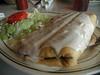 Veggie chimichanga. Teresa's, North Augusta. 7/3