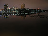 Augusta's skyline at night, as seen from the 5th Street Bridge. 2/15.