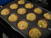 Finished baking corn muffin pot pies, 08/08/2012