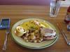 Avocado turkey omelet, J. Christopher, 01/19/2012