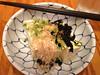Cold tofu. Dinner at Yakitori Jinbei, 05/01/2012