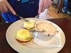 Sean's Eggs Benedict at Rose & Crown, 08/18/2013