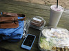Lunch outside, 08/14/2013