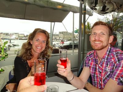 Nicky and Matthew at La Marina