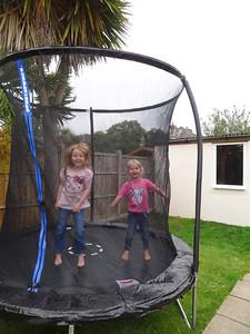 New trampoline!!