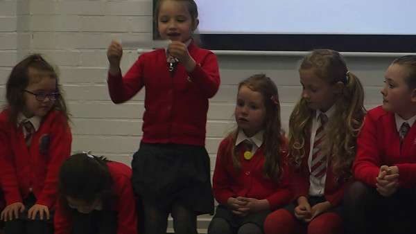 Isla talking about Roald Dahl