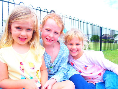 Daisy, Isla and Coralie