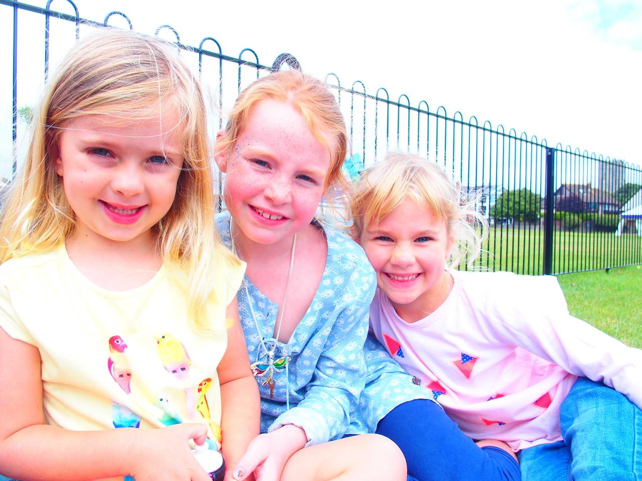 Daisy, Isla and Coralie