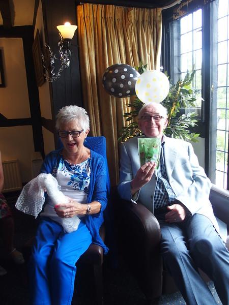 Val's 75th Birthday celebration