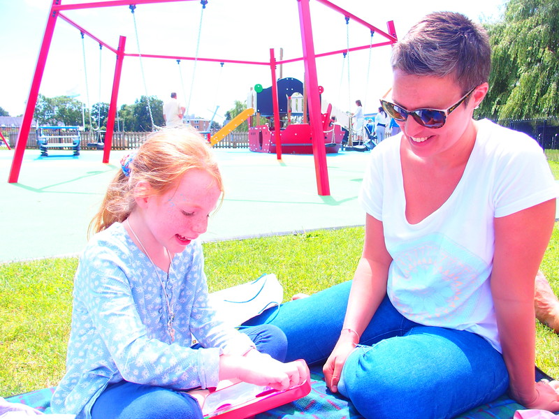 Isla and Becky