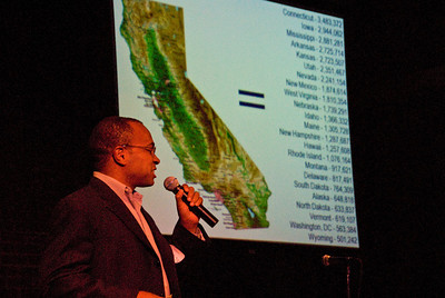 "210 Connect 4/14/2008   Forum topic: ""Pathways to Our Future"" - an opening dialog to envision a better future for Visalia. Richard Cummings from Great Valley Center providing demographic information projections into the future."