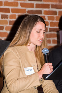 "210 Connect 4/14/2008   Forum topic: ""Pathways to Our Future"" - an opening dialog to envision a better future for Visalia. Lindsay Bailey presented her vision of ""Visalia as New Eden"""