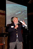 "210 Connect 4/14/2008   Forum topic: ""Pathways to Our Future"" - an opening dialog to envision a better future for Visalia.<br /> Paul Hurley welcoming participants to forum and providing vision behind 210 Connect."