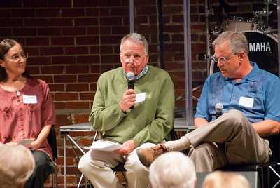 Photos from 210 Connect 11-10-2008.  Topic on Faith in the Community