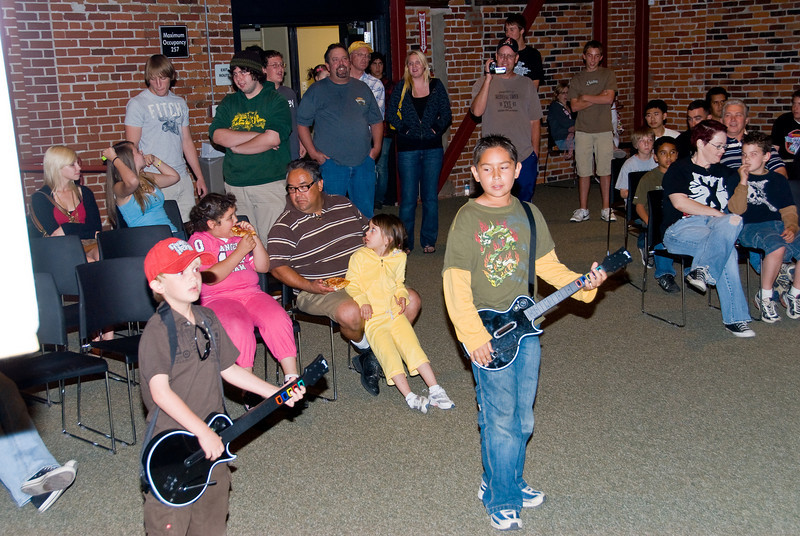 Photos from Guitar Hero contest held at 210 on 4-4-2008<br /> Some incredible talent even among the youngest.